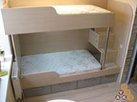 кровать из дсп