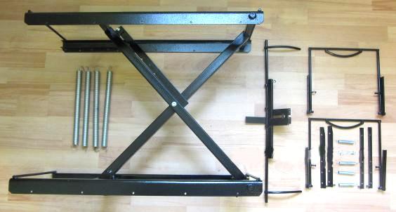 197Механизм для подъемного стола своими руками