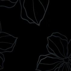 мдф лотос черный глянец Т 8520