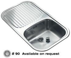 кухонные мойки - reginox, модель - regent 10