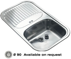 кухонные мойки - reginox, модель - regent 10 plus