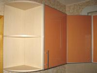Кухня оранжевый постформинг