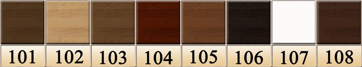 цвет деревянной кровати