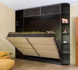 шкаф кровать серии экстра