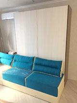 Шкаф-кровать диван в детскую