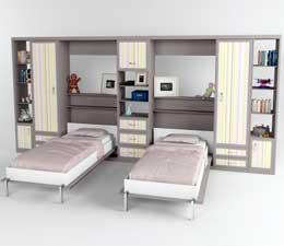 шкаф кровать серии детские