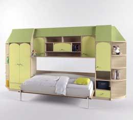 шкаф кровать в детскую
