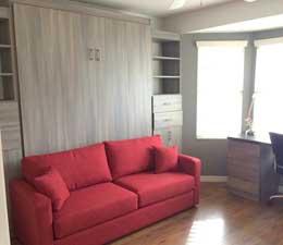 шкаф кровать серии диван