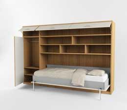 шкаф кровать серии комфорт