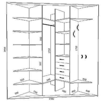 Схема углового